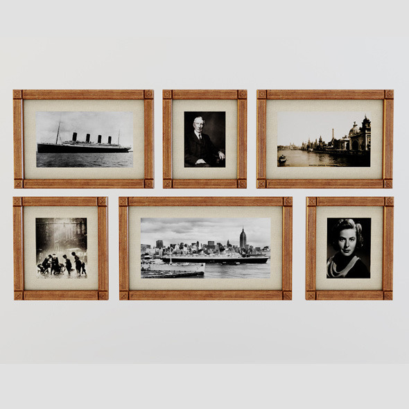 Picture Frames - 3DOcean Item for Sale