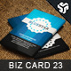 Business Card Design 23 - GraphicRiver Item for Sale