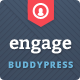 Engage - WordPress, BuddyPress, bbPress Theme Nulled