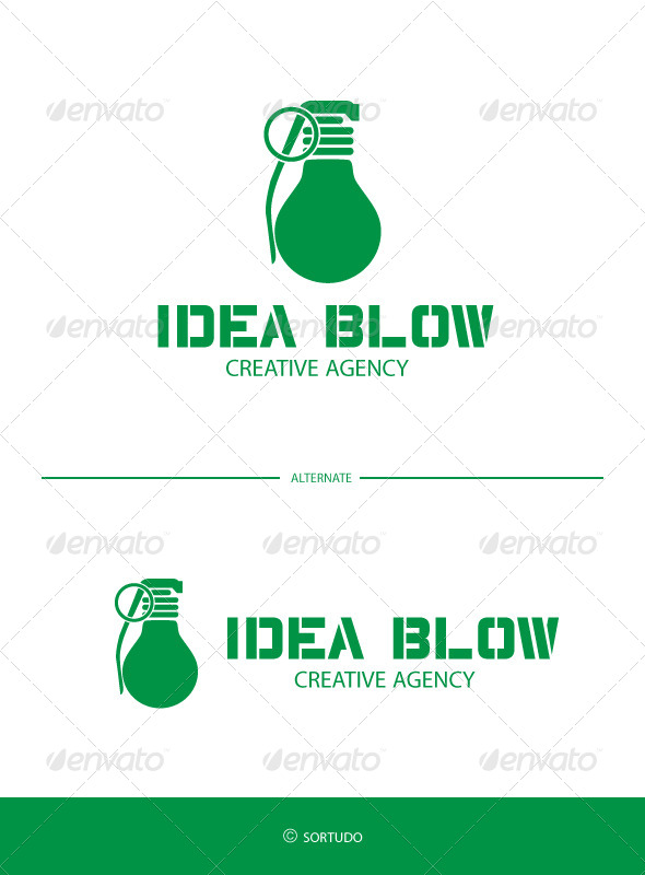 Idea Blow Logo Template - Objects Logo Templates
