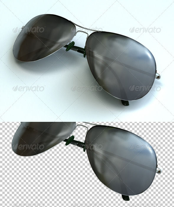 Glasses - Objects 3D Renders
