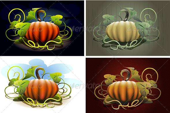 Halloween Pumpkin Set - Halloween Seasons/Holidays