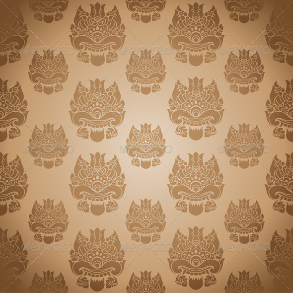 One Eye Background - Patterns Decorative