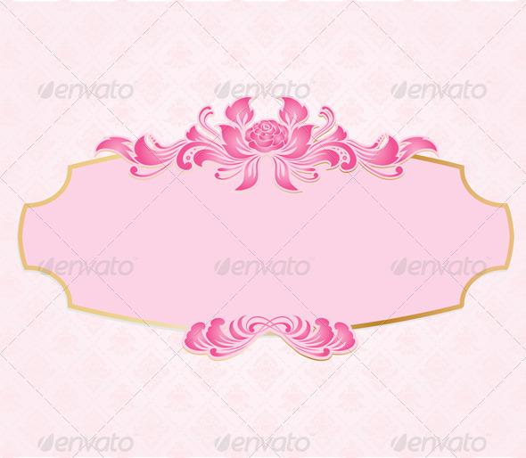 Frame Valentine - Backgrounds Decorative