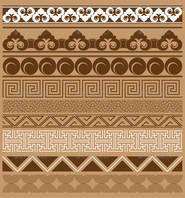 Ornament Frame Set - Patterns Decorative