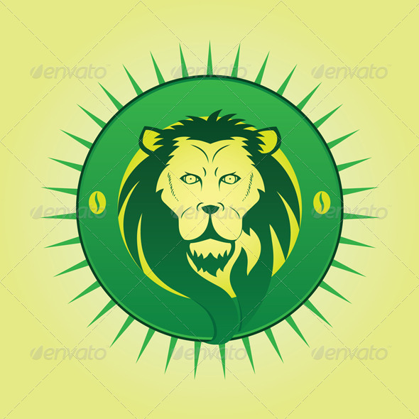 Lion symbol  - Animals Characters