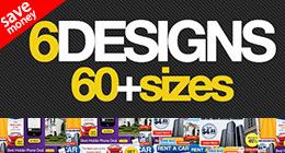 PSD Banner Ad Set Bundle