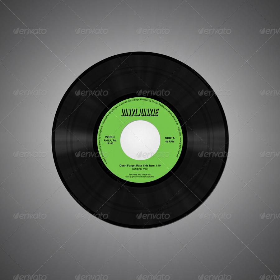 Realistic Vinyl Records With Inner Sleeves By Vinyljunkie