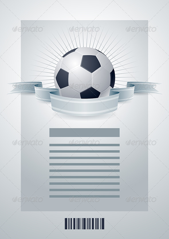 Soccer Ball Design Template - Sports/Activity Conceptual