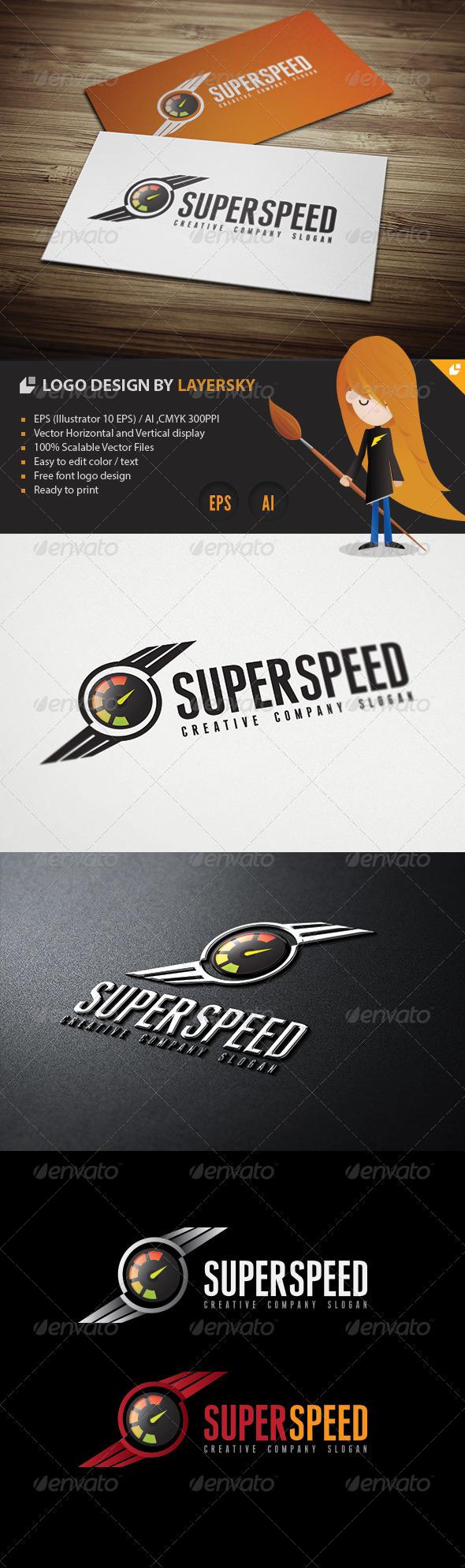 Super Speed Logo - Crests Logo Templates