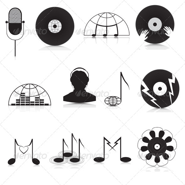 Music Icons - Miscellaneous Vectors