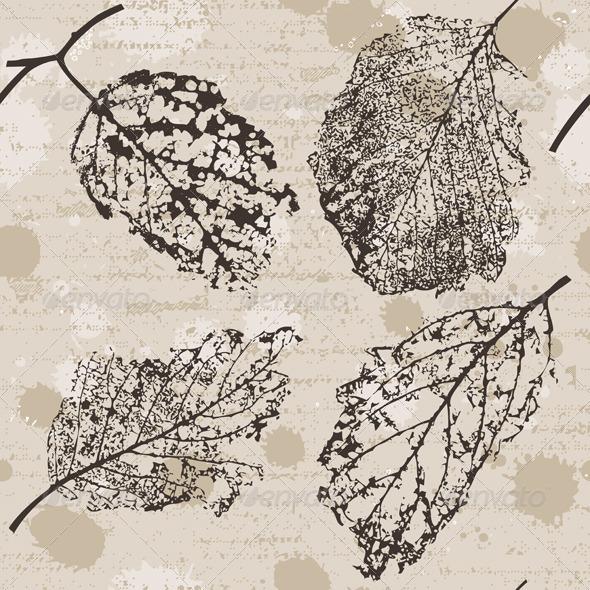 Old Leaf - Patterns Decorative