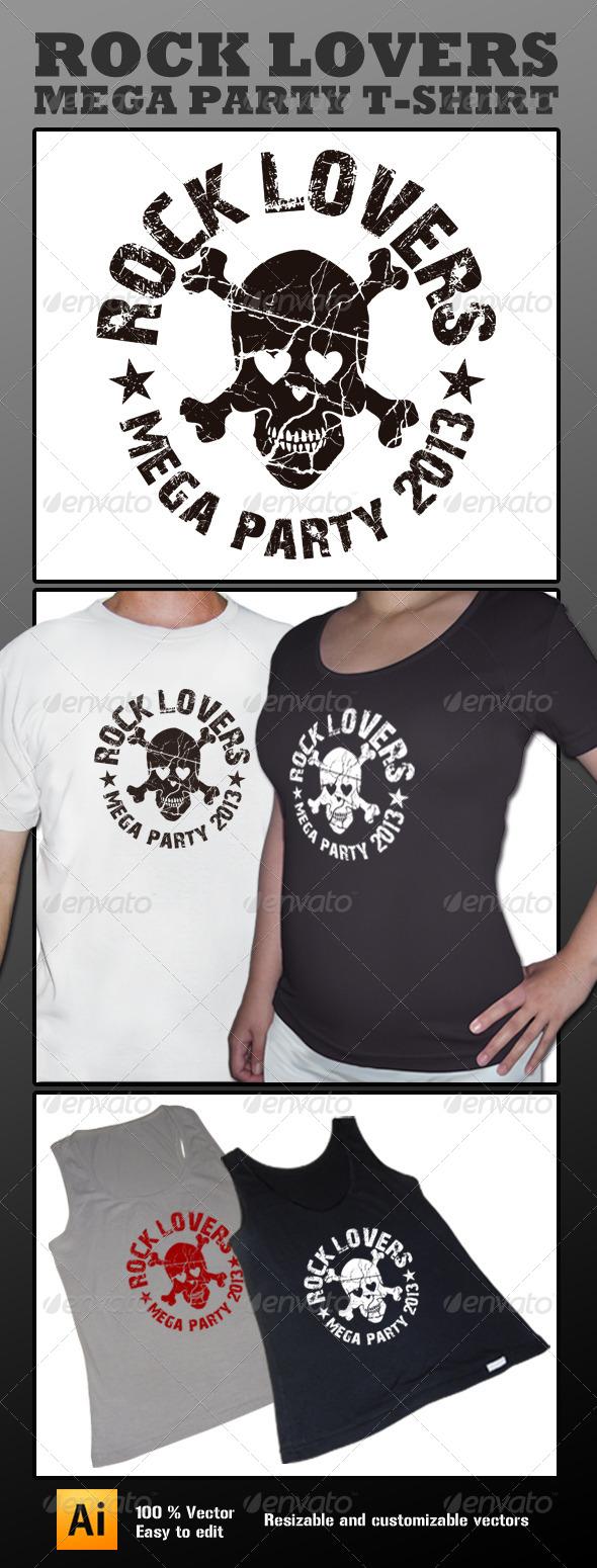 Skull Lover T-shirt - T-Shirts