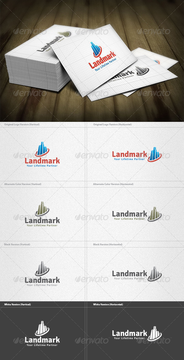 Landmark Logo - Buildings Logo Templates