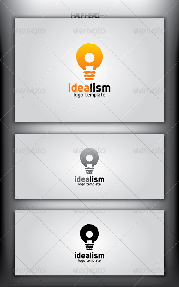 IDEALISM Logo Template - Symbols Logo Templates