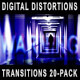 Digital Distortions Transitions (20-Pack) - VideoHive Item for Sale