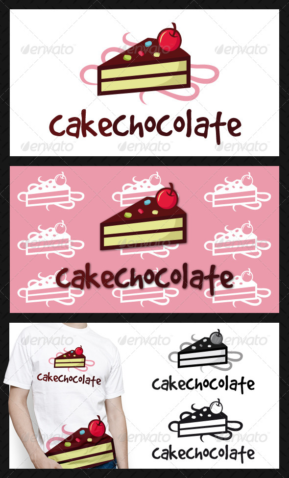 Cake Logo Template - Food Logo Templates