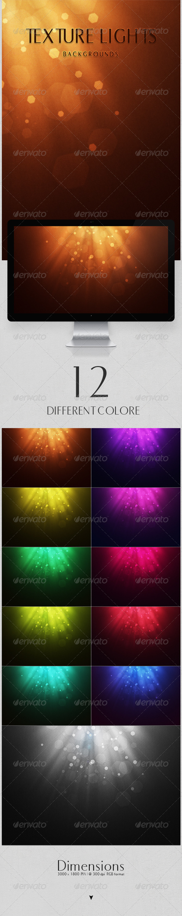 Texture Lights Backgrounds - Abstract Backgrounds