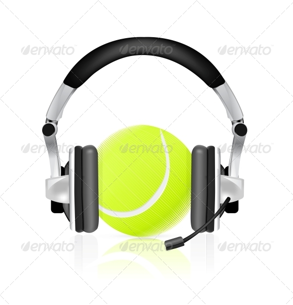 Tennis Concept - Sports/Activity Conceptual