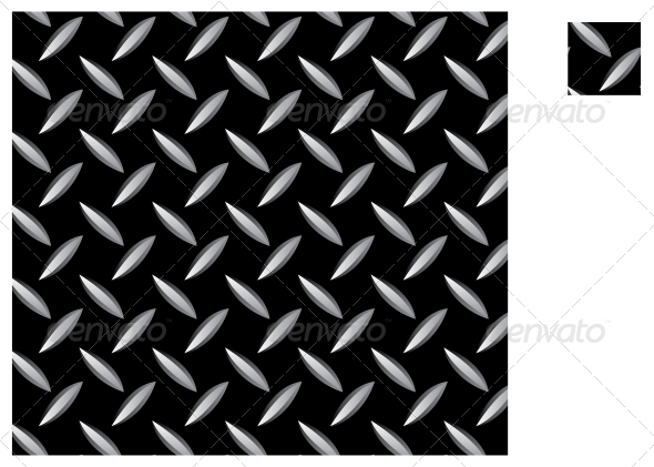 Metal Seamless Pattern - Backgrounds Decorative