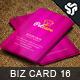 Business Card Design 16 - GraphicRiver Item for Sale