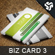 Business Card Design 3 - GraphicRiver Item for Sale