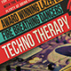 Techno Therapy Flyer - GraphicRiver Item for Sale