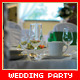 Wedding Party Slide With Table - VideoHive Item for Sale