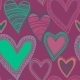Colorful Seamless Heart Pattern - GraphicRiver Item for Sale