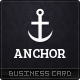 Anchor Business Cards - GraphicRiver Item for Sale