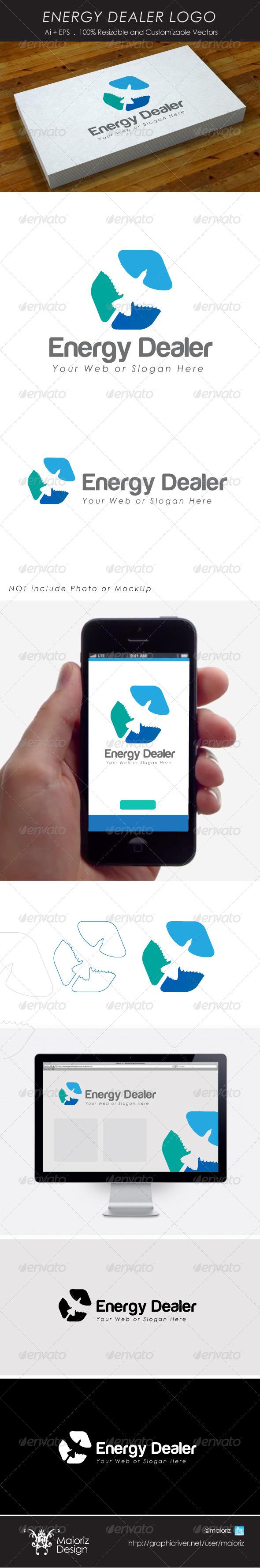 Energy Dealer Logo - Vector Abstract