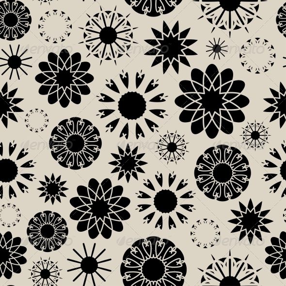 Floral Seamless - Patterns Decorative
