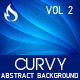Curvy Abstract Background Vol 2 - GraphicRiver Item for Sale