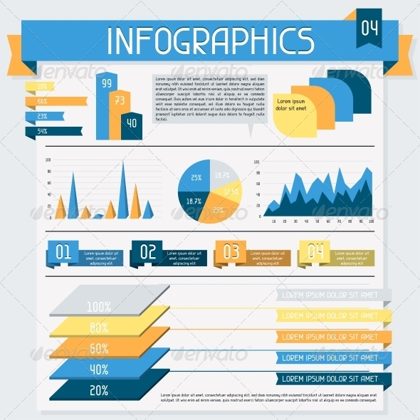 Infographics Elements Collection Set - Infographics