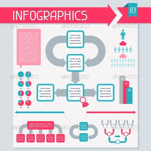 Infographics Elements Collection. Set 3. - Infographics
