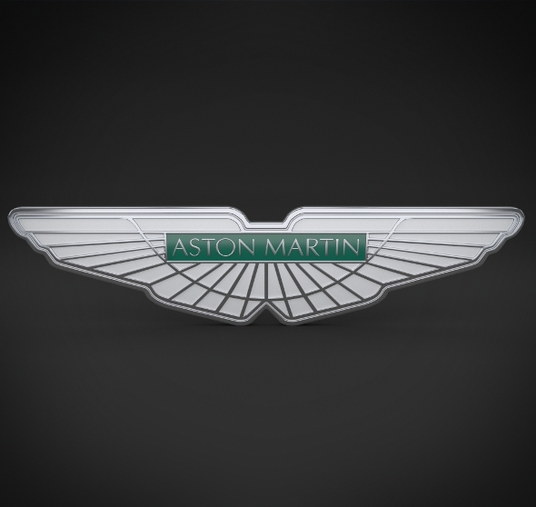 Aston Martin Logo - 3DOcean Item for Sale