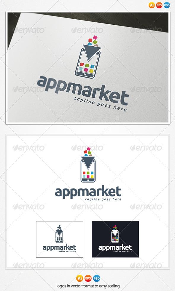 App Market Logo - Objects Logo Templates
