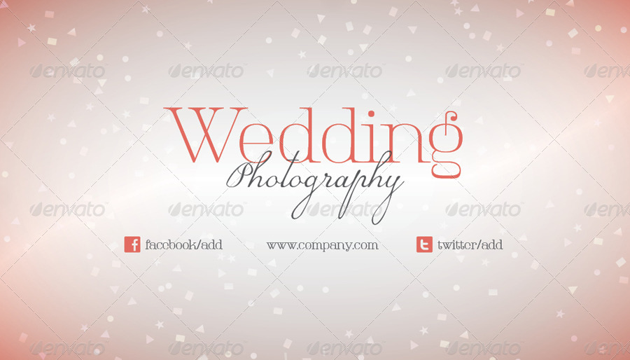 Wedding photography business card template by grafilker graphicriver wedding photography business card template industry specific business cards 01businesscardpreview01businesscardg reheart Image collections