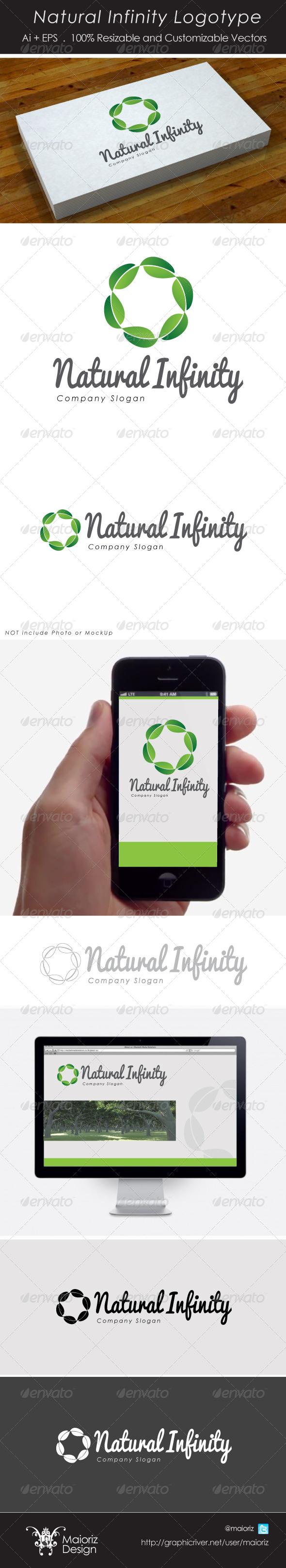 Nature Infinity Logo - Nature Logo Templates