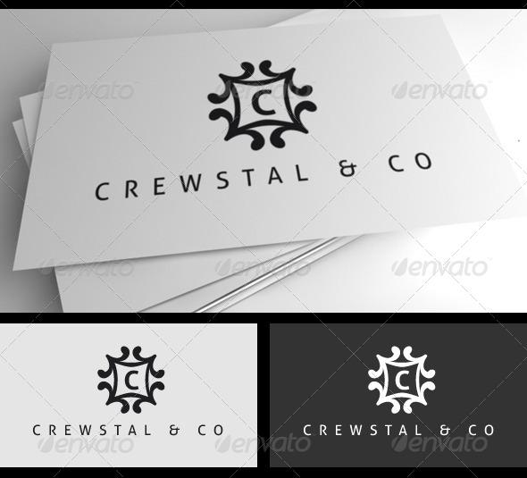 Crewstal Logo - Crests Logo Templates