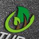 Green Leaf Logo Template - GraphicRiver Item for Sale