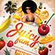 Juicy Jam Flyer Template - GraphicRiver Item for Sale