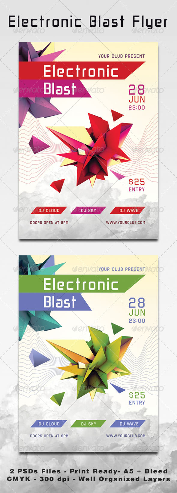 Electronic Blast - Events Flyers