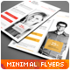Clean Minimal Multipurpose Flyers vol. 3 - GraphicRiver Item for Sale