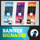 Hire Me - Banner Signage 2 - GraphicRiver Item for Sale