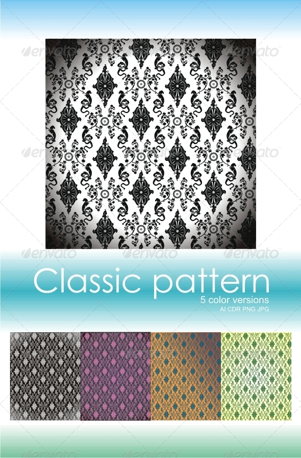 Classic Pattern 1 - Patterns Decorative