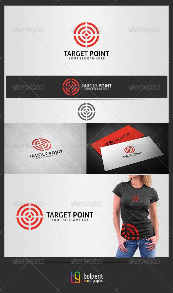 Traget Point Logo Template - Symbols Logo Templates