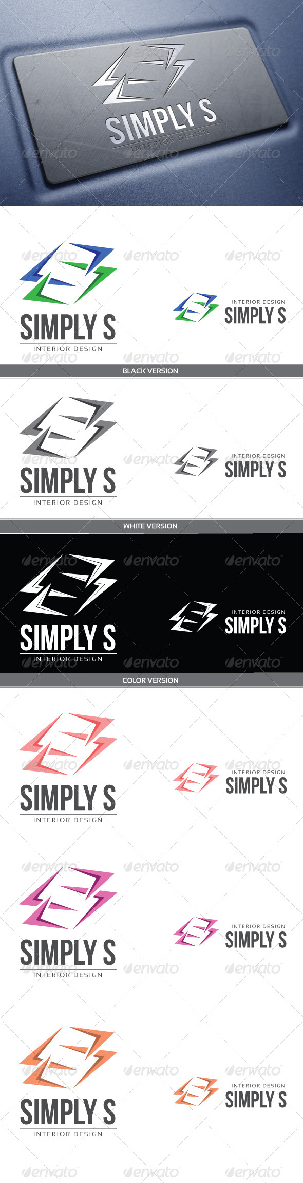Simply S - Letters Logo Templates