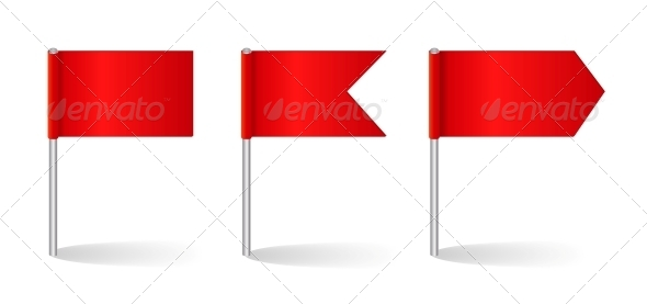 Vector Illustration of Flags Set - Miscellaneous Vectors