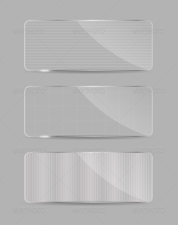 Glass Frame on Abstract Background. - Miscellaneous Vectors